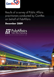 Public Affairs Survey 2009