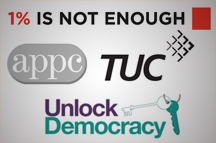 APPC, TUC & Unlock Democracy form campaign coalition on Lobbying Bill