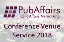 PubAffairs Conference Venue Service now available for 2018
