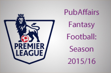 PubAffairs Fantasy Football League returns for 2015/16 Season