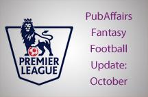 PubAffairs Fantasy Football League 2014/15: October Round-up
