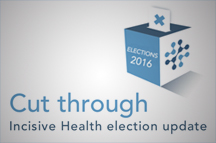 Cut through: One week to go until polling day