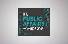 Shortlist announced for Public Affairs Awards 2017