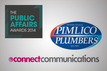 Connect Communications and Pimlico Plumbers win Corporate Campaign of the Year Award