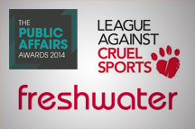 Freshwater UK and League Against Cruel Sports recognised for #WhatTheFox? Campaign