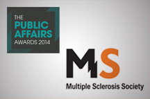 MS Society scoops Voluntary Sector Campaign of the Year