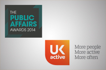 ukactive awarded Trade Body Campaign of the Year