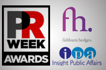 Public Affairs Winners at the PR Week Awards