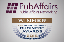 PubAffairs wins Networking Group of the Year FSB Business Award