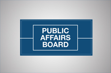 Public Affairs Board announces new Executive Committee leadership team