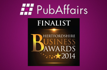 PubAffairs receives two Business Award nominations