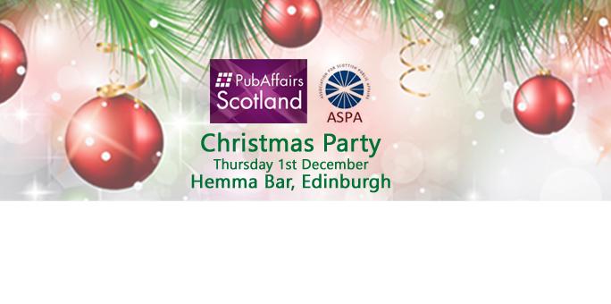 Next Event: PubAffairs Scotland Xmas Party