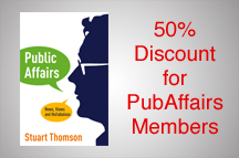 Stuart Thomson releases new politics and public affairs book