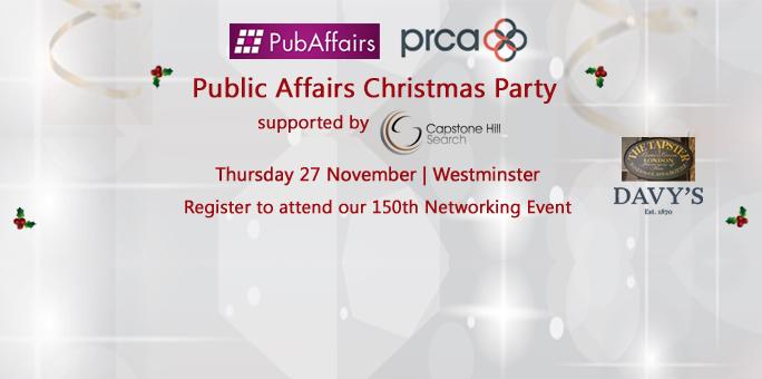 PubAffairs & PRCA Public Affairs Christmas Party