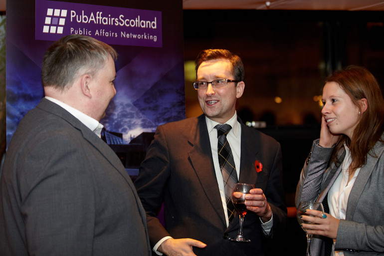 PubAffairs Scotland Networking Event, November 2012