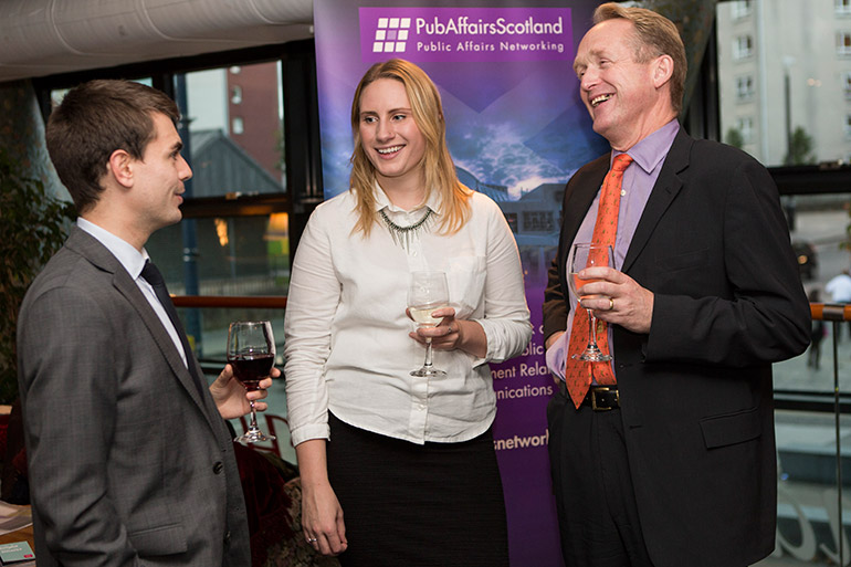 PubAffairs Scotland Networking Event, October 2013