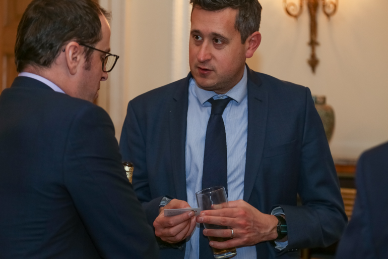 PubAffairs EU Networking Event, Belgian Embassy, February 2018