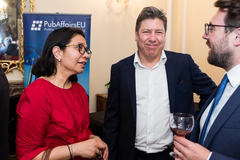 PubAffairs EU Networking Event, Romanian Cultural Institute, May 2018